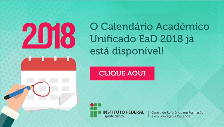 Calendário Unificado EaD 2018