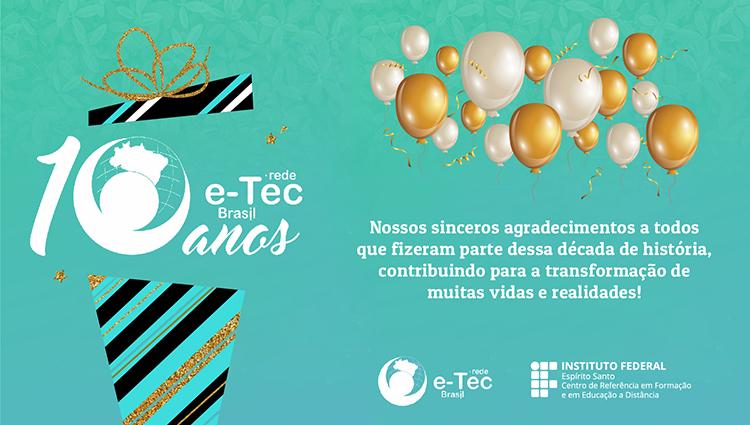 10 anos rede eTec