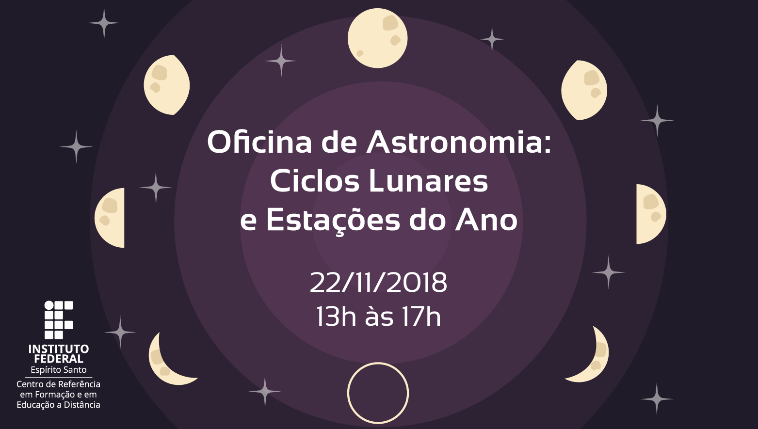 Oficina de Astronomia no Cefor