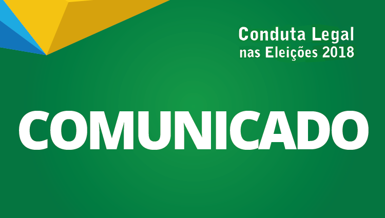 Cefor suspende ações de publicidade institucional durante o período eleitoral