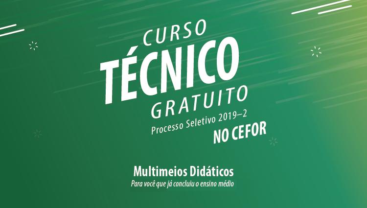 Cefor abre 40 vagas em curso técnico gratuito