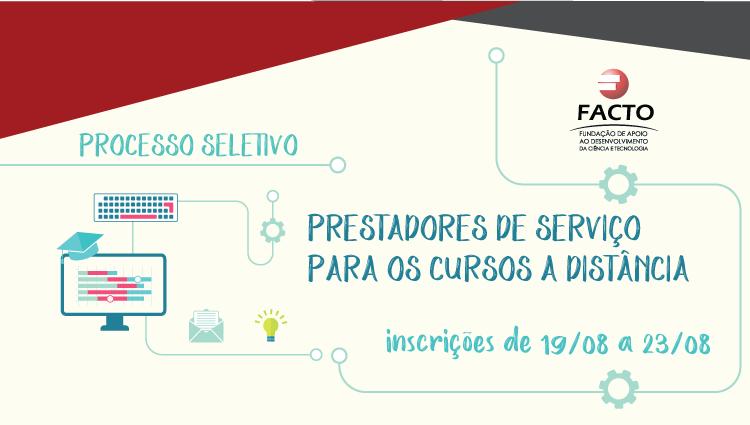 Edital para contratação de prestadores de serviços atuarem no Cefor e no Campus Vitória